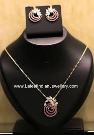 diamond ruby pendant earrings diamond