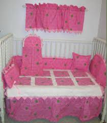 pink john deere baby bedding in pink
