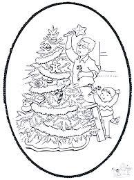 Kerst Prikkaart 9 Prikken En Kleuren Kerst