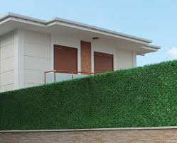 Grass Fence Panels Artificial Hedge Panel