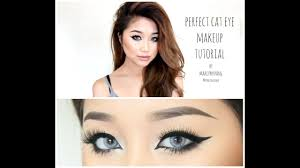 perfect cat eye makeup tutorial