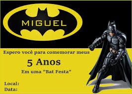 33 Convites De Aniversario Do Batman Incriveis Cumple De