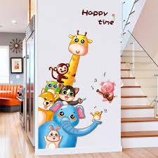 Cute Animal Wall Stickers Apollobox