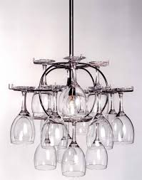 wine glass storage that doubles as a
