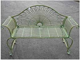 garden bench 37 high wrought iron