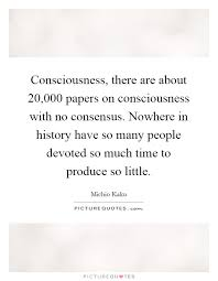 consciousness there are about papers on consciousness