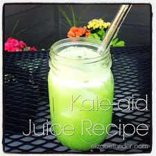 kale aid is the best kale juice recipe