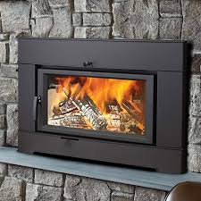 why a wood burning fireplace insert
