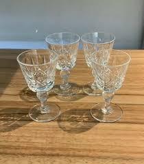 cut glass liquer port sherry aperitif