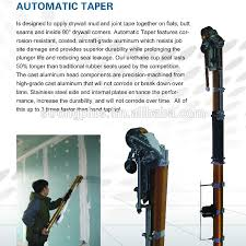 automatic taper drywall taping