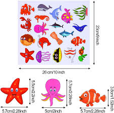 Amazon Com 200 Pieces Ocean Theme Window Clings Decorative Sea Life Windows Decals Static Stickers With Shark Fish Dolphin Whale Glass Window Clings For Kids And Adults 10 Sheets Arts Crafts Sewing