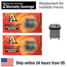 2 Pcs Pet Fence Dog Collar Batteries For Invisible Fence R21 R22 R51 Microlite 94922515094 Ebay