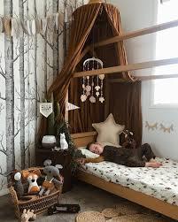 A Forest Themed Nurserykids Room Kids Room Boy Room Regarding The Forest Themed Bedroom In 2020 Little Boys Rooms Kids Room Wallpaper Toddler Rooms