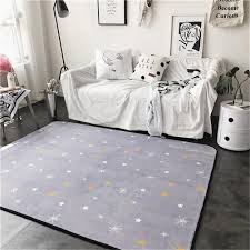 Buy Mucalis Thick Baby Crawling Mat Light Purple Non Slip Cushion Stars Printed Toddlers Mat Kids Play Mat Bedroom Rug Activity Floor Carpet Living Room Area Rugs 150x190cm In Cheap Price On Alibaba Com