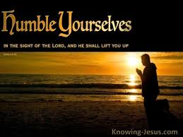 bible verses about humble yourself