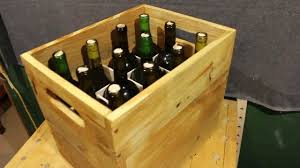 pallet wood project wine storage