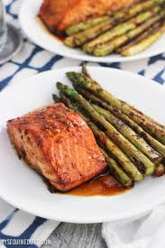 Sweet and Spicy Orange Salmon [+ Video ...