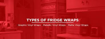 Refrigerator Wraps Full Size Mini Fridge Wraps Vinyl Fridge Wraps
