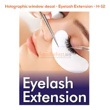 Holographic Window Decal Eyelash Extension H 12 Spasalon Us