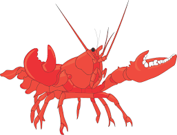 Cartoon lobster cofocolorhd cliparts ...