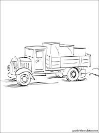Kleurplaat Vrachtwagen Gratis Kleurplaten