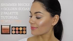 shimmer bricks golden sugar 2 palette