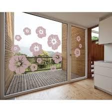 Shop Blossom Mix Window Glass Decal Vinyl Wall Art Home Decor Overstock 11545341