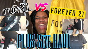 rue 21 plus size clothing haul