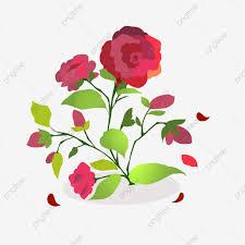 نبات أخضر باقة أزهار زهور الورد أحمر شائك الورقة الخضراء الزهور