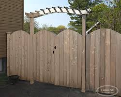 Arbours Wood Gates Products Fence All Ottawa