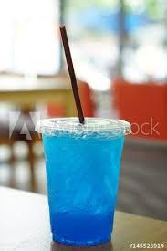 closeup cocktail or tropical mocktail