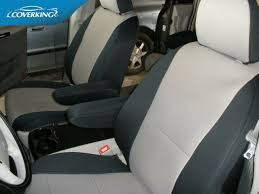 custom tailored front seat covers