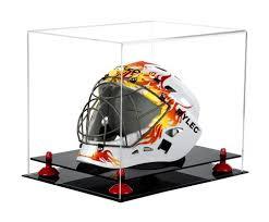 display cases football helmet display