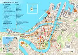 trondheim tourist map