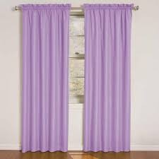 Eclipse Kids Polka Dots Blackout Window Curtain Panel In Purple 42 In W X 84 In L 12424042x084pur The Home Depot