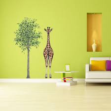 Giant Tree Wall Sticker For Themed Rooms And Realistic Wall Murals