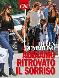 "Stefano De Martino: ""Ecco perchè io e Belen non torneremo mai ..."