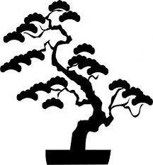 Japanese Bonsai Tree Wall Stickers Tree Wall Stickers Vinyl Wall Decals