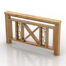 Fence Wood N090414 3d Model Gsm 3ds For Exterior 3d Visualization Gates Fences
