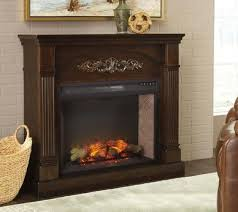 boddew fireplace with mantle and insert