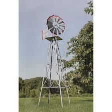 decorative garden windmill weather vane