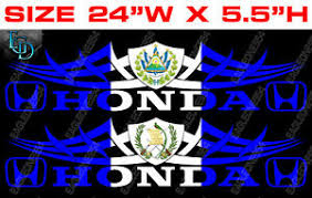 Country Flag With Coat Of Arms Car Decal Vinyl Stickers Hon 5123 Ebay