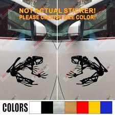 Pair Mirror Image Navy Seal Team Devgrufrog Skeleton Decal Sticker Car Vinyl Car Stickers Aliexpress