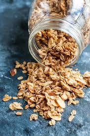 healthy homemade granola recipe peas