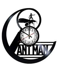 Deals On Ant Man Handmade Vinyl Record Wall Clock Get Unique Room Wall Decor Gift Ideas For His And Her Modern Unique Home Art Design