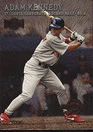Amazon.com: 2000 Metal #224 Adam Kennedy PROS MLB Baseball Trading Card:  Collectibles & Fine Art