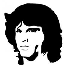 Doors Band Vinyl Decal Stickers Face