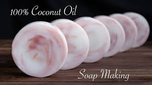 coconut oil soap making you
