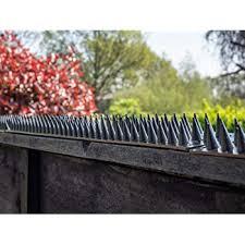 Spares2go Garden Fence Wall Anti Climb Security Spikes 20 Pcs 10m Amazon Co Uk Garden Outdoors