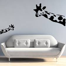 Banksy Wall Decal Wait What Giraffe Wall Stickers Banksy Etsy